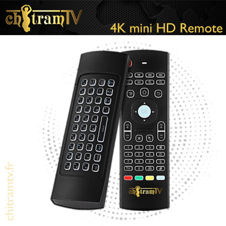 4K mini HD Remote