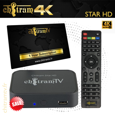 Star HD Box + 1 Year Subscription