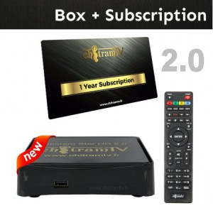 STAR HD 2.0  Box + One Year Subscription