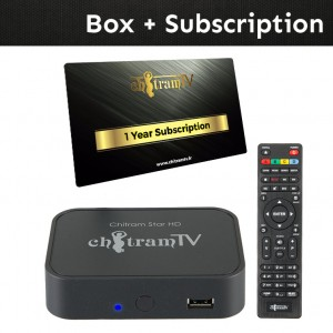 Star HD Box + One Year Subscription